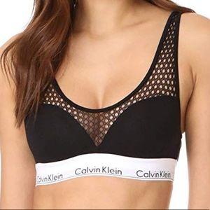 Calvin Klein Mesh Padded Bralette